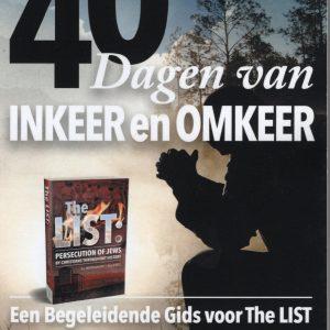 Boekcover 40 dagen